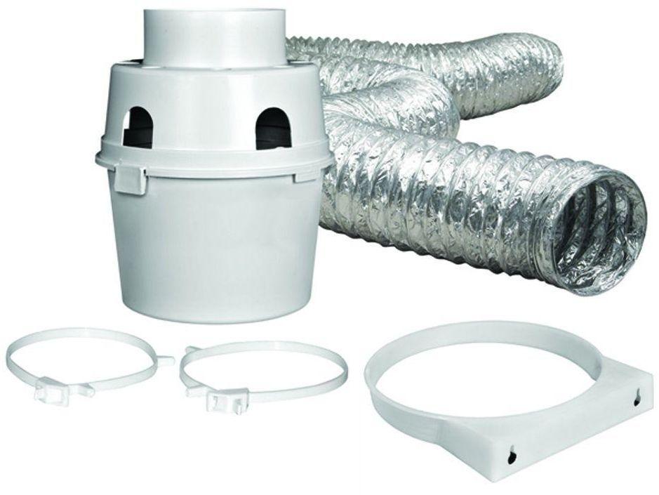 Everbilt Indoor Dryer Vent Duct Lint Trap Kit For Electric Clothes Dryers Everbilt Indoor Dryer Vent Dryer Vent Dryer Vent Kits