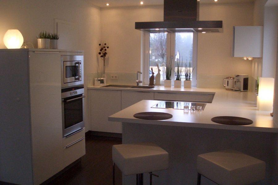 Die schönsten Küchen Ideen Purismus, weiße Küchen und Die küche - kleine küchen gestalten
