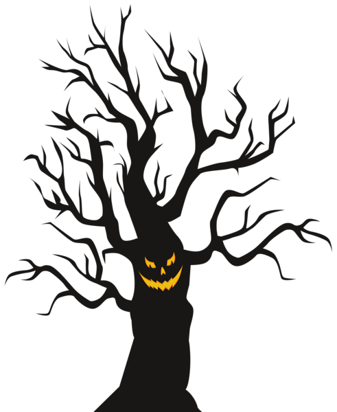 Halloween Scary Tree Png Clip Art Image Halloween Clipart Free Scary Halloween Halloween Clipart
