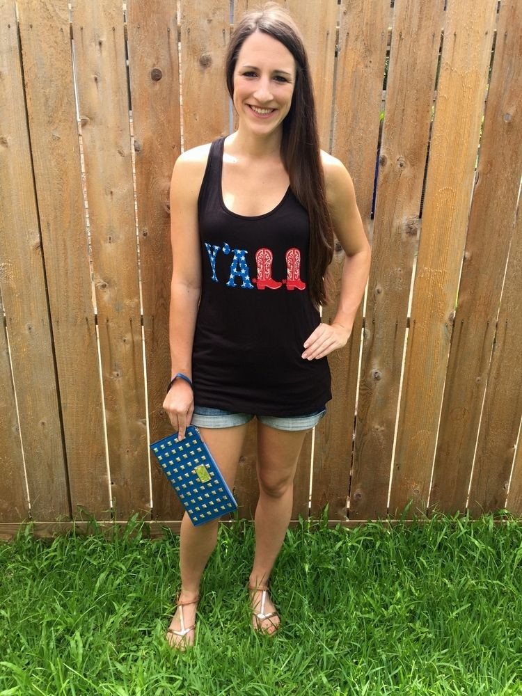 Black Y'all Tank Top  http://shopalittlepeaceofjoy.bigcartel.com/product/y-all-tank-tops