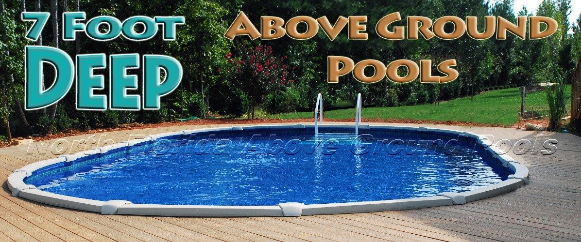 What Is A Deep Above Ground Pool How Deep Can You Go And Where To Buy One Near Jacksonville F Deep Above Ground Pools Best Above Ground Pool Above Ground Pool