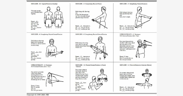 Found On Bing From Www Pinterest Com Shoulder Workout Shoulder Rehab Exercises Shoulder Workout At Home