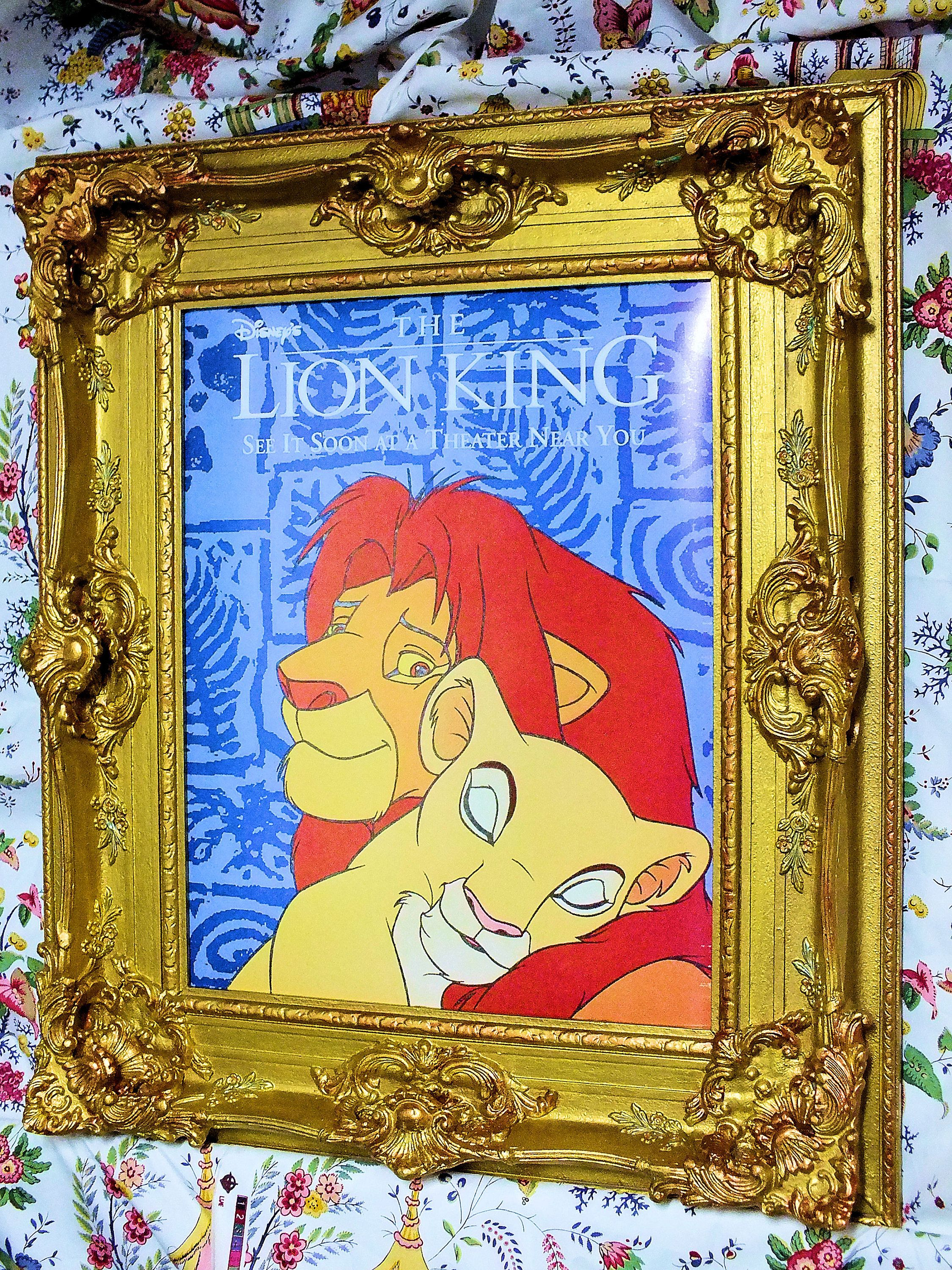 16 x 20 Fine Art Reproduction Print Disney Lion King Cartoon Movie ...