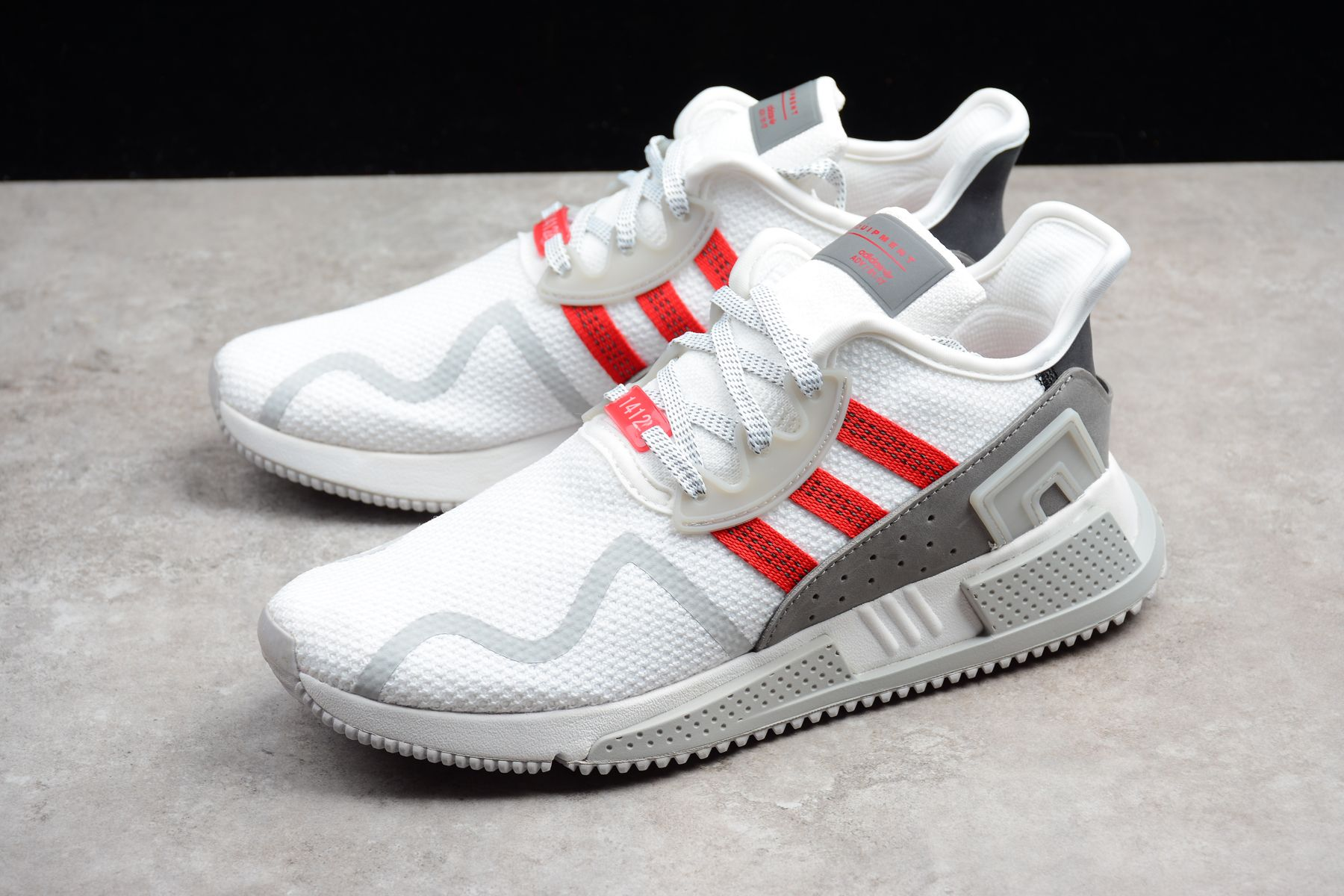 check out 0ec2d be710 2018 UK FR Trainers Adidas Originals EQT Cushion ADV EQT White Red