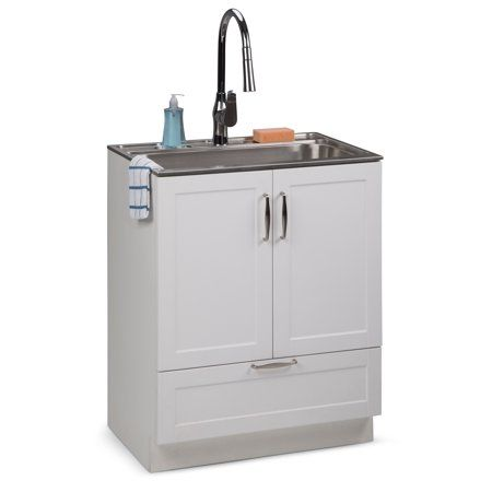 Home Improvement Stainless Steel Sinks Laundry Cabinets Pull