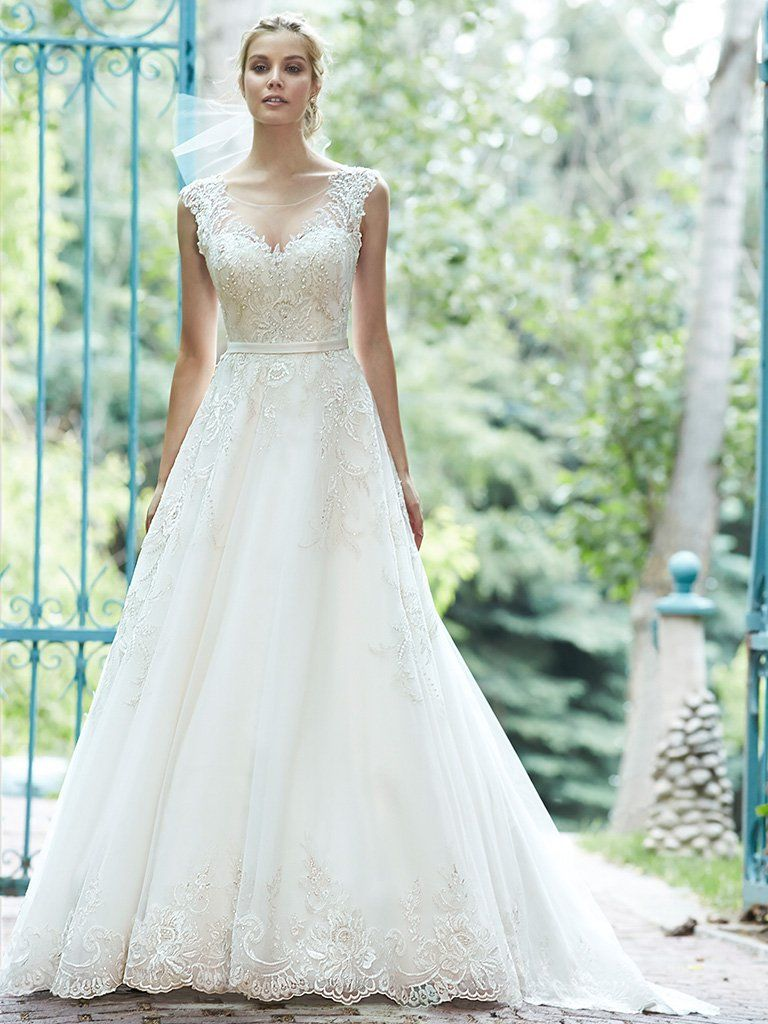 Ausgezeichnet Kurze Brautkleider Maggie Sottero Ideen - Hochzeit ...