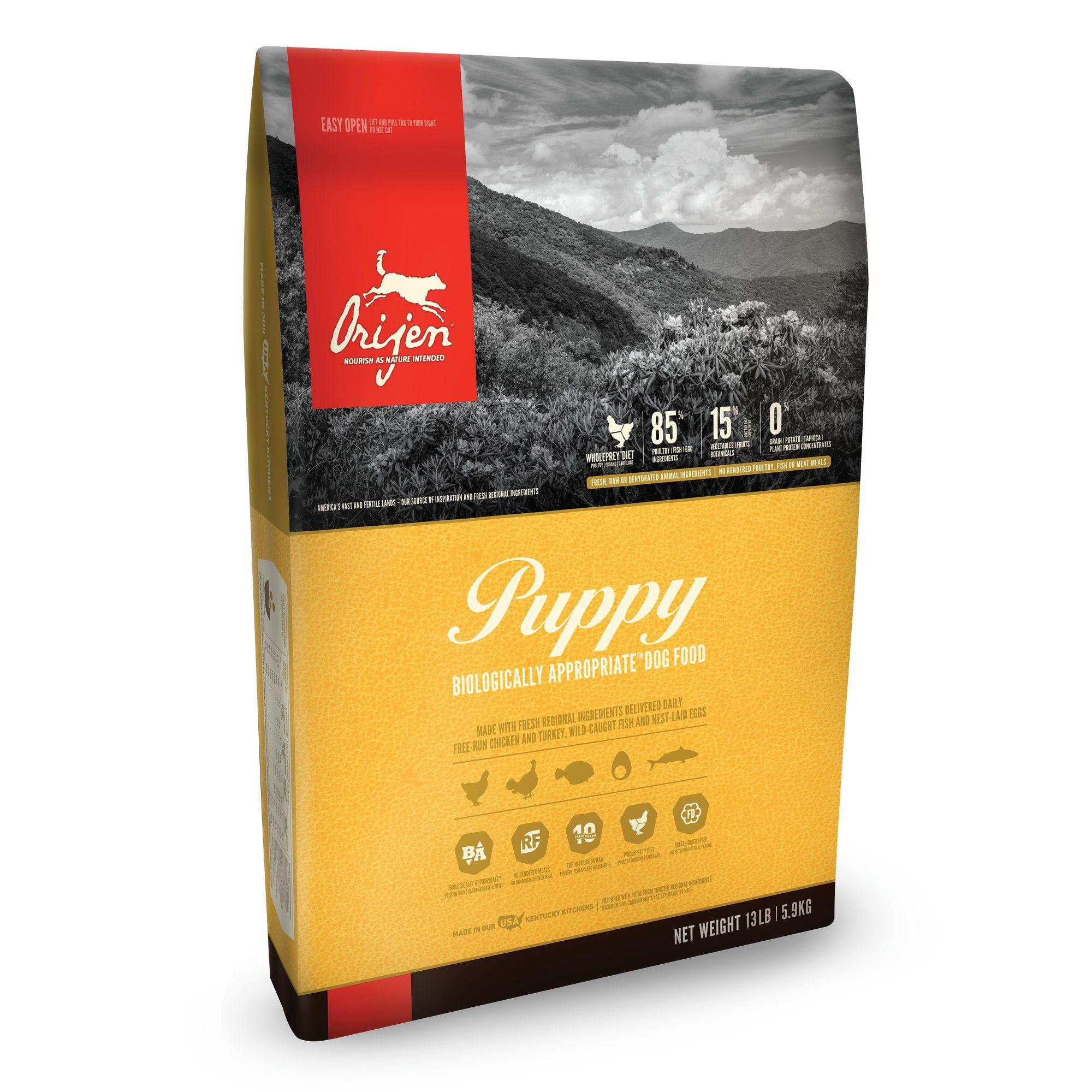 Orijen Puppy Dry Dog Food 13 Lbs Grain Free Dog Food Dog Food