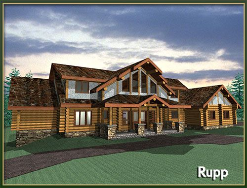 3000 Square Foot Modular Homes The Rupp Floor Plan Is A Large 3754 Sq Ft Manufactured Log Home With