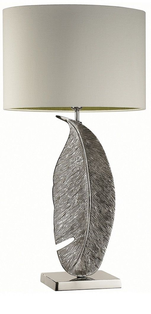 Silver Table Lamp Instyle Decor Table Lamps In 2018
