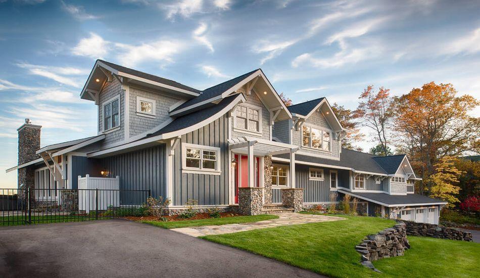 Typique maison bois am ricaine dans un magnifique jardin wood on house maisons et bois - Maison bois americaine ...