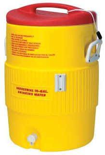 Reader Tip 10 Gallon Igloo Cooler 39 97 Lowes Conversion Kit Water Coolers Beverage Cooler Heat Stress