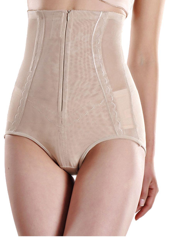 bf862ce0de854 High Waist Butt Lift Panties With Zip And Hooks Butt lift  Shaper Shapewear Sexy Lingeire