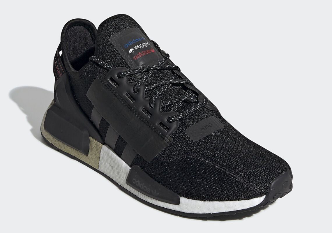 Adidas Outfits The Nmd R1 V2 With Metallic Gold Boost Adidas Nmd