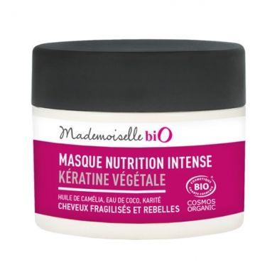 Masque Nutrition Intense MADEMOISELLE BIO prend soin de vos cheveux sans les alourdir
