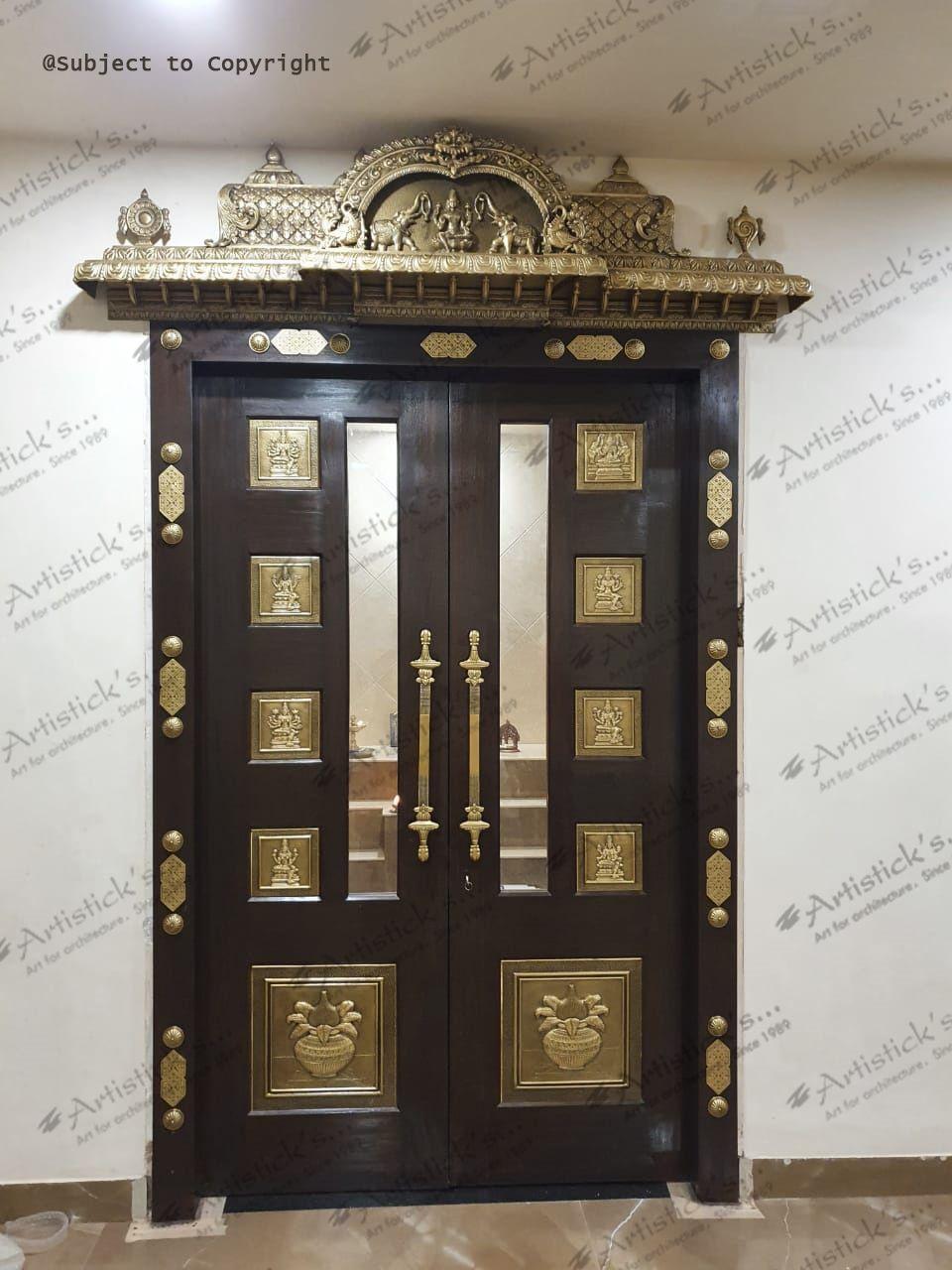 Pooja Room Door Designs Room Door Design Pooja Room Door Design Door Glass Design Home simple pooja room door designs