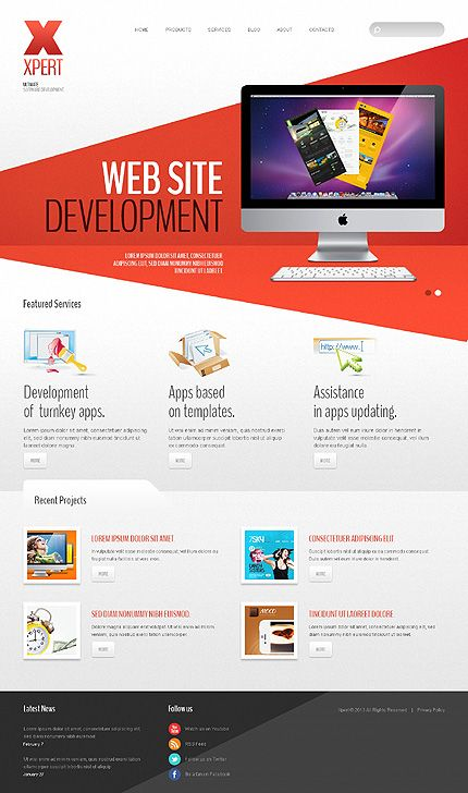 template 42980 web design software apps joomla bootstrap