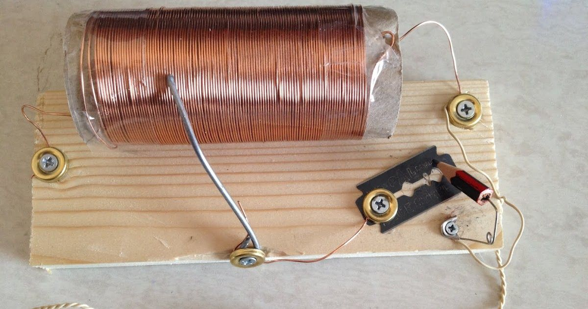 As a child I'd made a crystal radio set and had been meaning