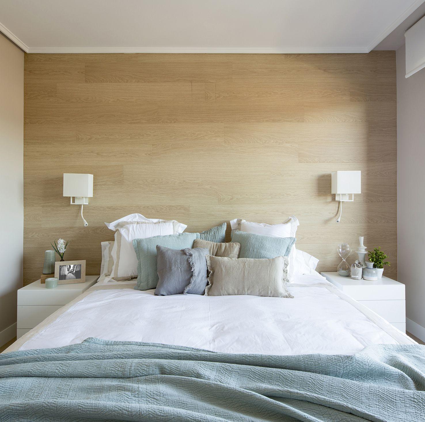 Detalle Dormitorio En Vivienda Integramente Reformada Y Proyectada Por Natalia Zubizarre Dormitorios Apliques Pared Dormitorio Decoracion Dormitorios