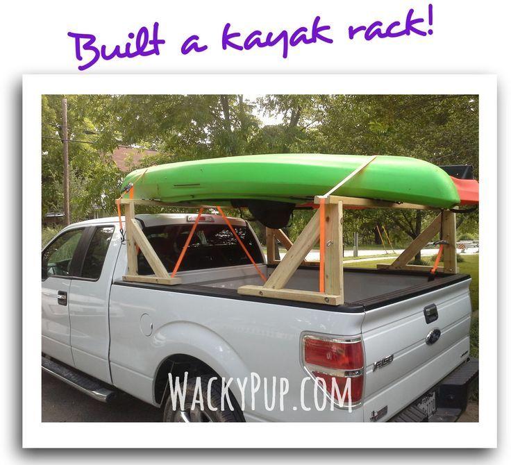 Step by step instructions I finally built a kayak rack