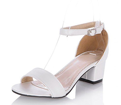 collections sale online original for sale White 'Simple' mid heel wedge mules pay with visa cheap price visit new online 7SlxUaRhld