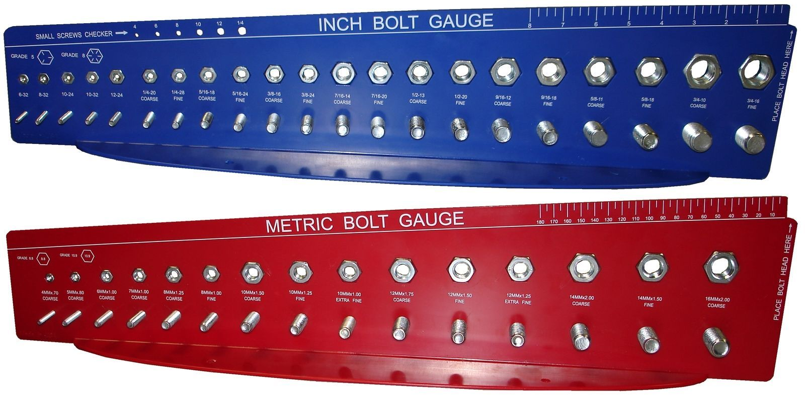 Bolt and Nut Gauges Check A Thread Size Fastener Standard