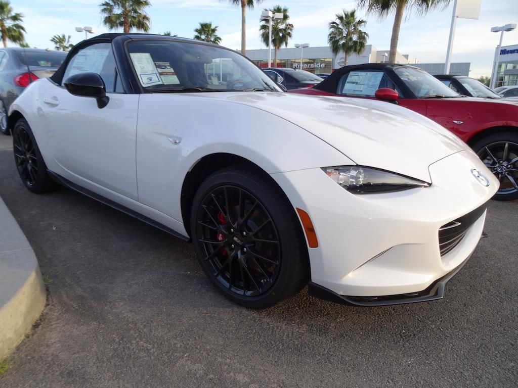 2016 Mazda MX5 Miata Club Edition White Riverside
