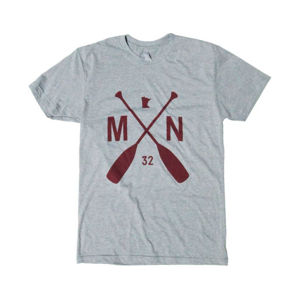 Men's Crew T in our MN Paddle Graphic – sota clothing