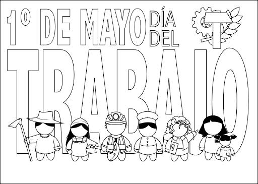 Dibujos Por El Dia Del Trabajador Imagui Con Imagenes Dia