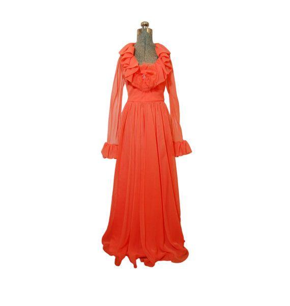 a894401130d Vintage JACK BRYAN Dress Late 60s 70s by dejavintageboutique