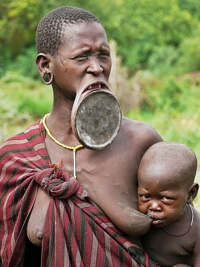 в африке сосут член в племени - 5