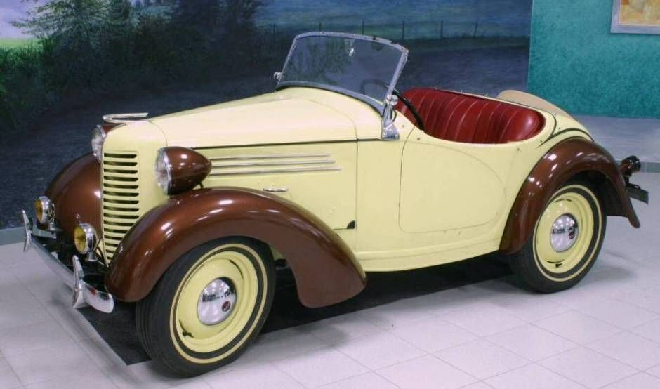 An Austin 7 by another name.. 1939 American Bantam Roadster - AACA ...