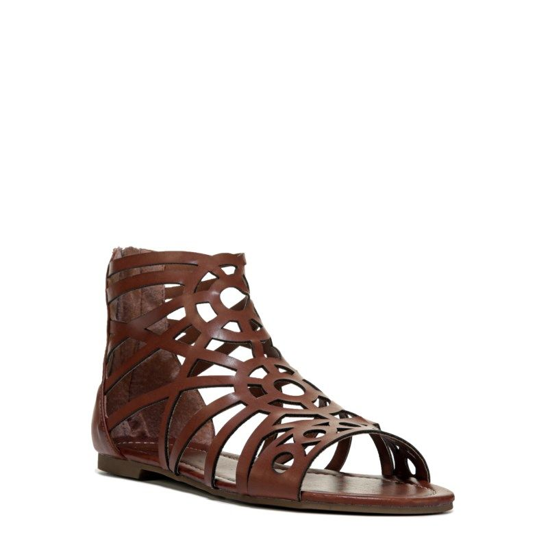 873283764d5 G BY Guess Women s Lets Be Gladiator Sandals (Rio Maple) - 10.0 M
