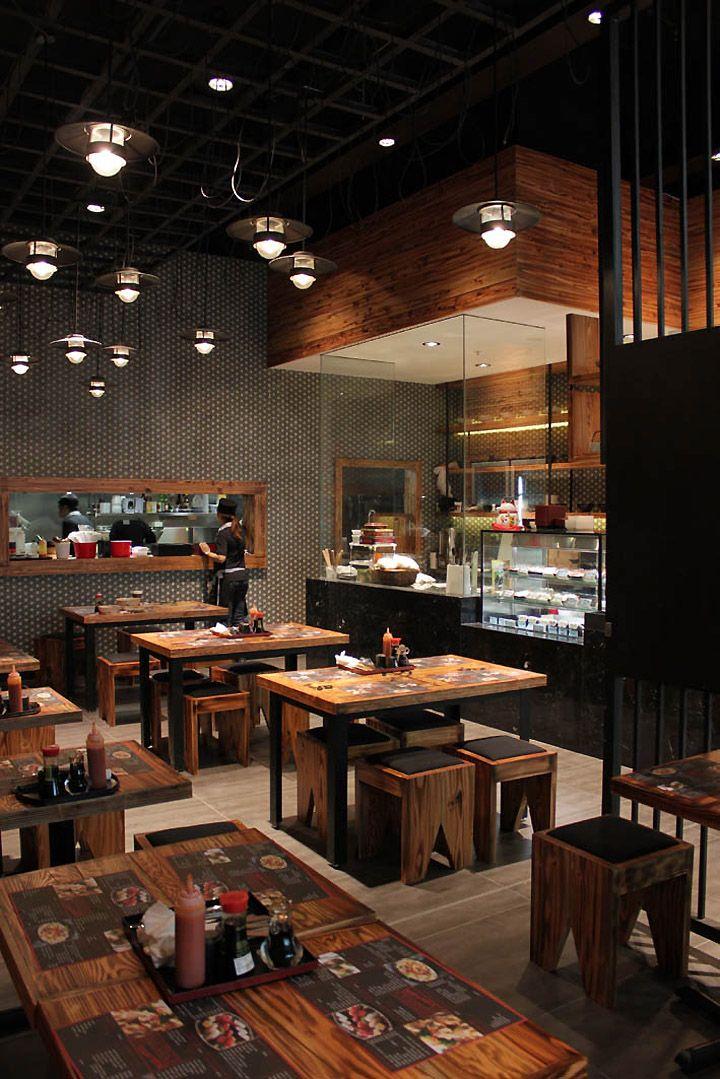 Small Japanese Restaurant Interior Design Homyracks