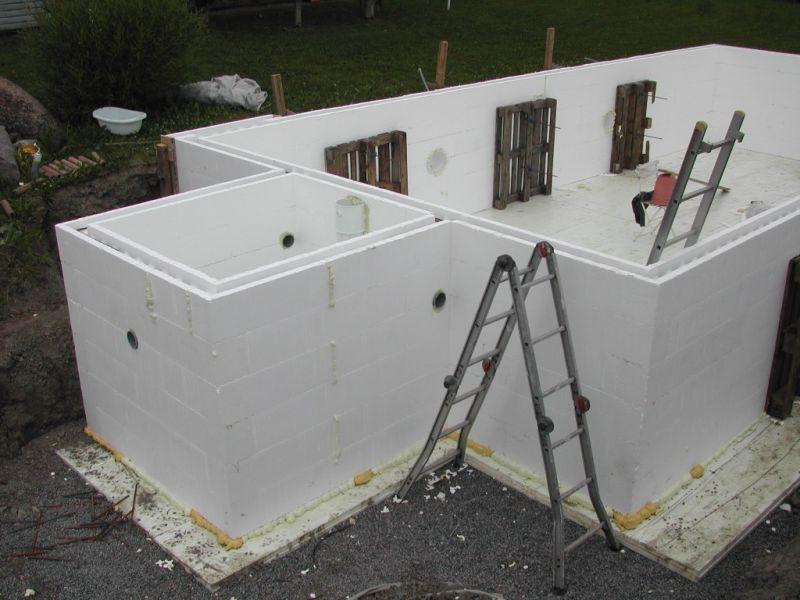 M Alander Oy Uima Allas Eps Harkoista Storage Construction Outdoor