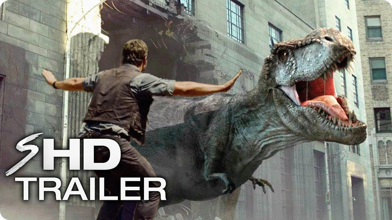 Jurassic World 3 Extinction (2021) First Look Trailer