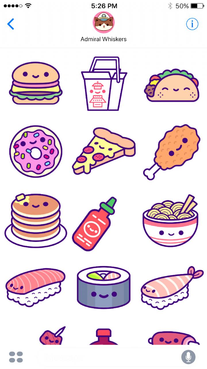 Kawaii Food Drawings : kawaii, drawings, #Food, Drawings,, Animal, Drawings, Kawaii