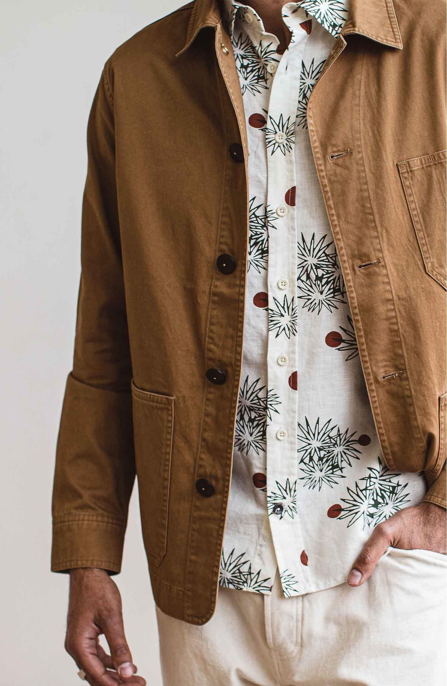 The Ojai Jacket In Tobacco Jackets Taylor Stitch Fashion [ 2300 x 1500 Pixel ]