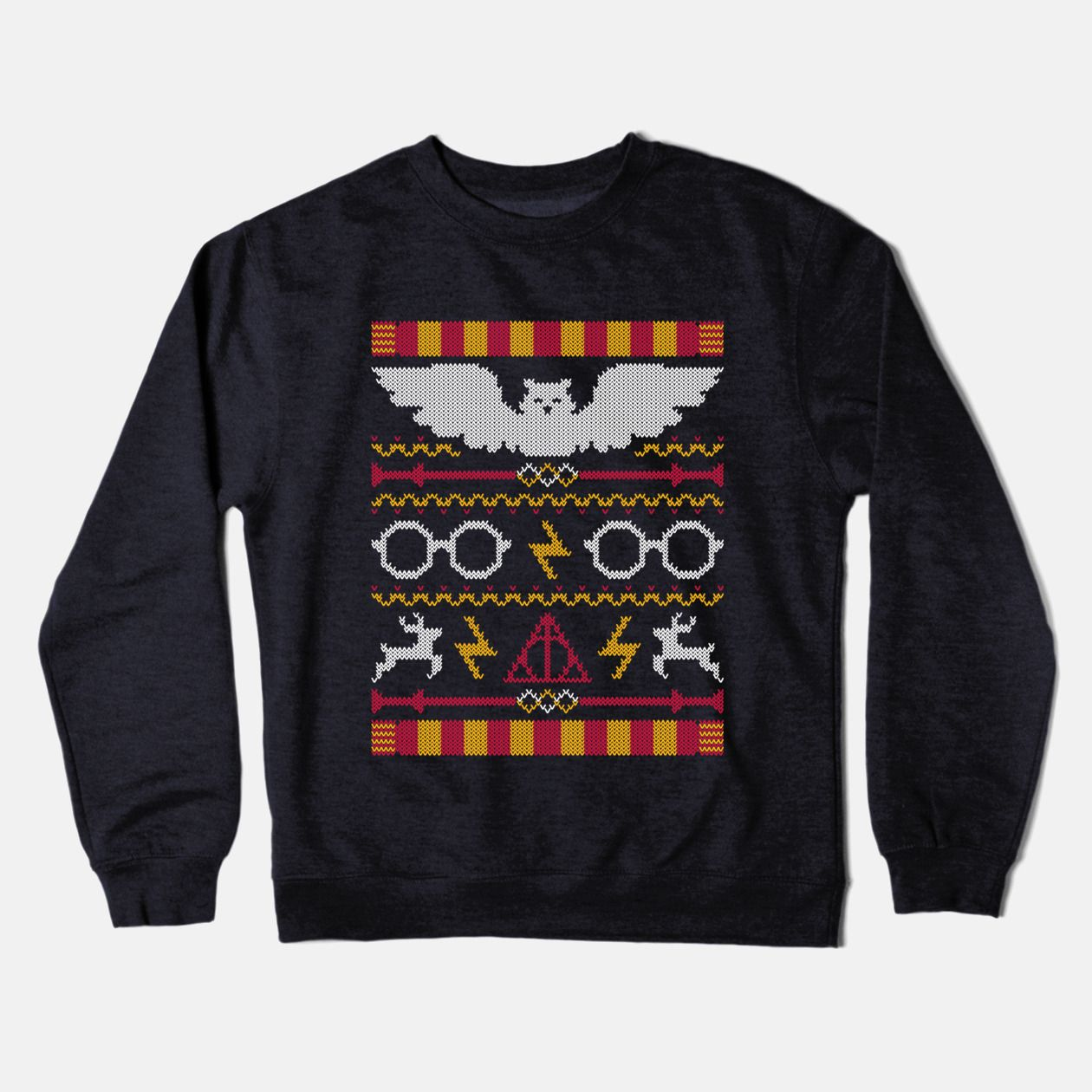 The Sweater That Lived - Harry Potter Ugly Christmas Sweater ...