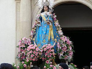 Virgen de Loreto  en Murcia