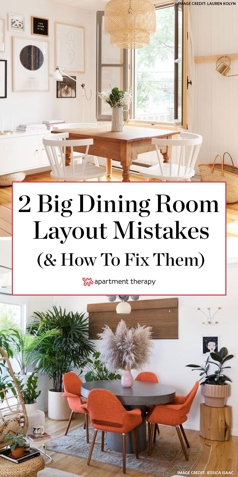 Two Major Dining Area Layout Mistakes You Re Probably Making According To Home Stagers Dining Room Arrangement Dining Room Layout Dining Room Furniture Layout