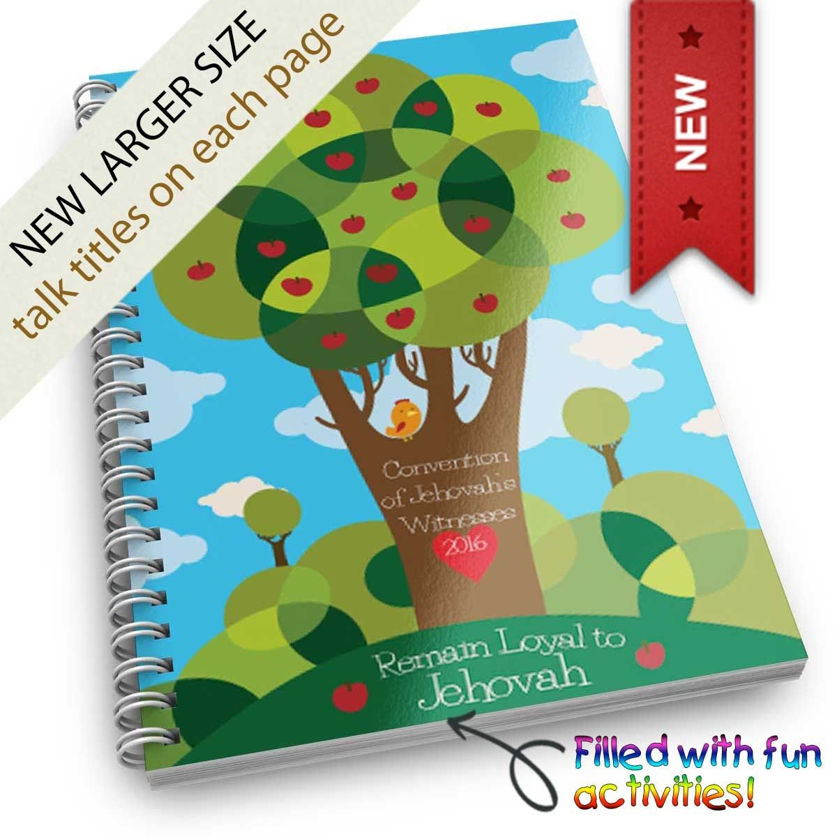 Fun Kids Activity Workbook For Convention Love Never Fails