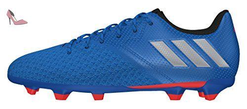 adidas Messi 16.3 FG J, Chaussures de Foot Garçon, Azul
