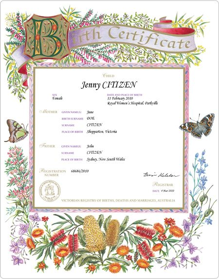 Midwife Birth Certificate Footprint  Google Search  Logo Images