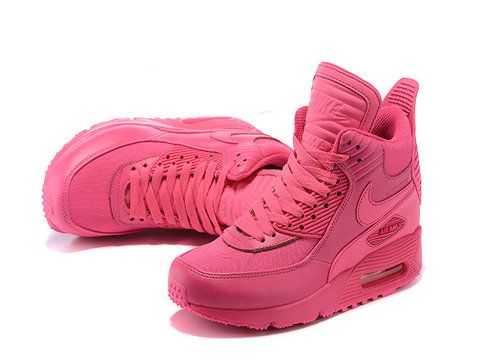 superior quality 3c4d2 00c99 Womens Nike Air Max 90 Sneakerboot Winter Pink