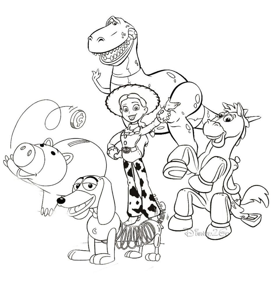 Toy Story Coloring Pages Toy Story Coloring Pages Disney