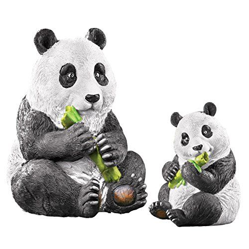Superb Amazon.com : Mother And Baby Panda Garden Statue Set   2 Pc, White : Patio,  Lawn U0026 Garden