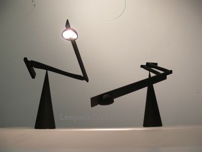 Mario Barbaglia Marco Colombo Italiana Luce Tabla Desk Lamp