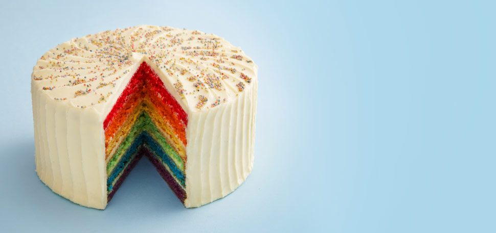 rainbow cake delivery near me