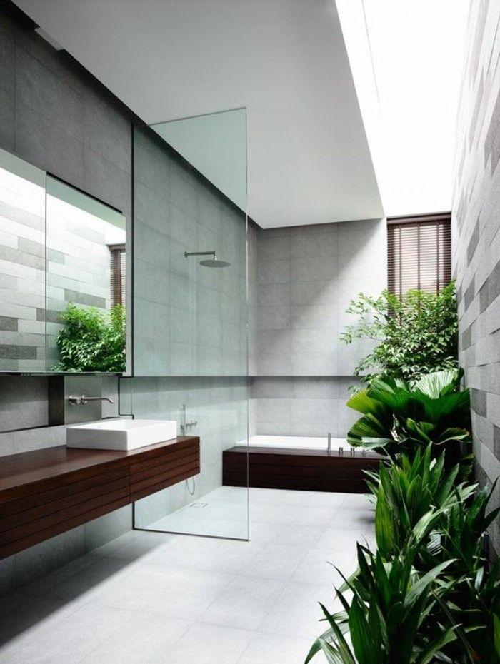 badgestaltung ideen bader ideen badezimmer mit vielen grunen - badezimmer design badgestaltung