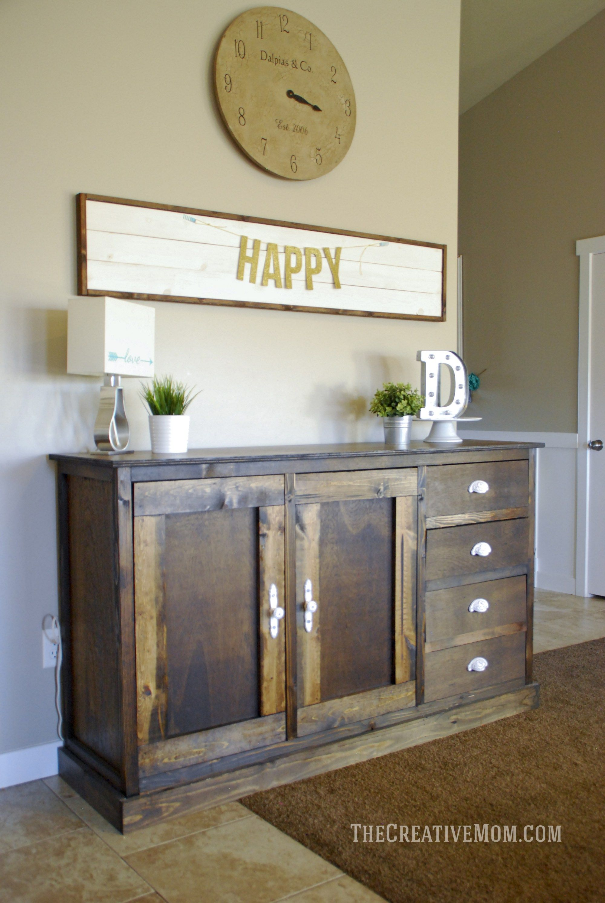 Diy farmhouse coffee table ikea hack rustic furniture